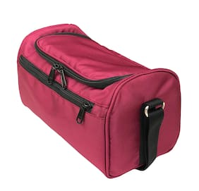 Foonty Daily Use Waterproof Lunch Bag (Wine Red;7033)