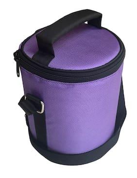 Foonty Daily Use Waterproof Lunch Bag (Purple;7037)