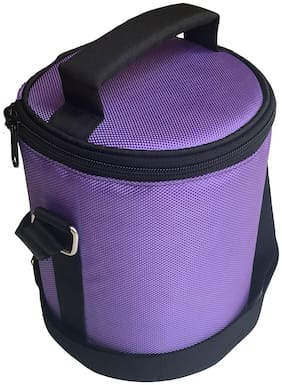 Foonty Daily Use Waterproof Lunch Bag (Purple;7037)