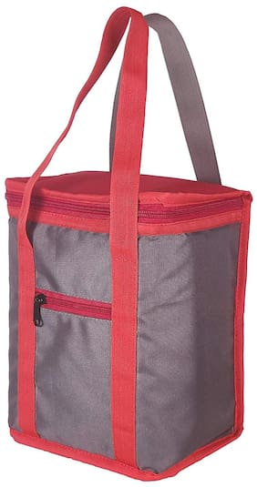 Foonty Office Use Men/Women Waterproof Lunch Bag/Tiffin Bag(Grey)