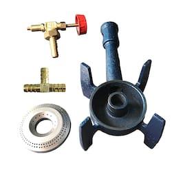 FOZTI 1 Burner Regular Blue Gas Stove , ISI Certified