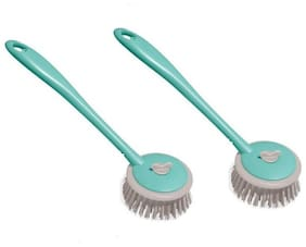 FPR Pack of 2 Sink Cleaning Brush with Long Handy Handle