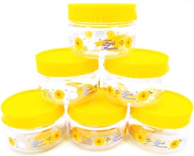 FPR 150 ml Assorted Plastic Container Set - Set of 6