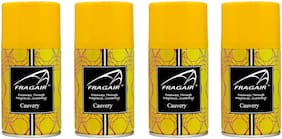 Fragair Air Freshener Refills for Automatic Dispensers Cauvery Pack of 4 (250ml each)