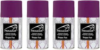 Fragair Air Freshener Refills for Automatic Dispensers Hesper Fun Pack of 4 (250ml each)
