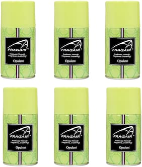 Fragair Air Freshener Refills for Automatic Dispensers Opulent Pack of 6 (250ml each)