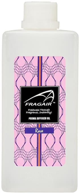 Fragair Concentrated/Undiluted Rose Aroma Oil for Air Revitalizer (500ml)