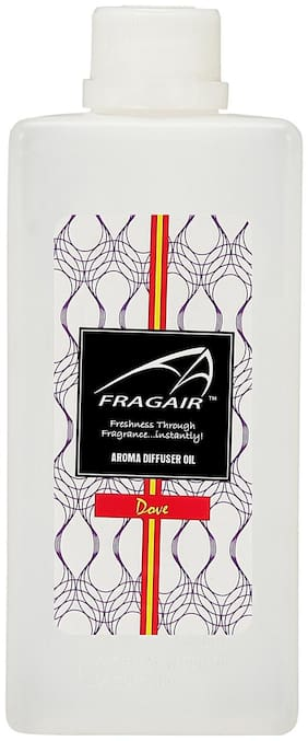 Fragair Concentrated/Undiluted Dove Aroma Oil for Air Revitalizer (500ml)