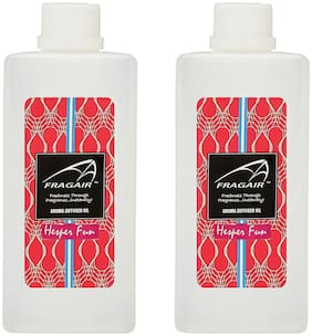 Fragair Concentrated/Undiluted Hesper Fun Aroma Oil for Air Revitalizer Pack of 2 (500ml each)