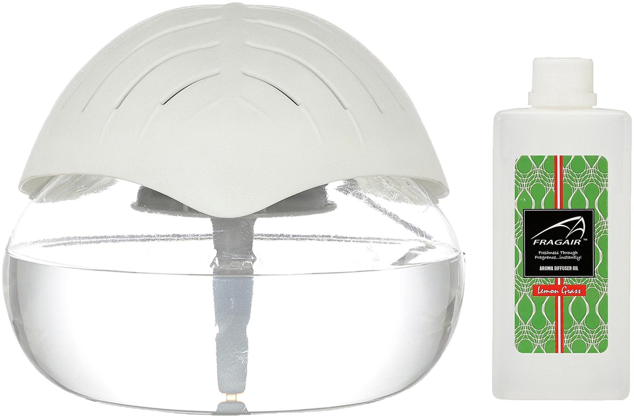 Fragair Portable Room Air Purifier Aroma Diffuser with Essential Aroma Oil  500ml;Lemon Grass