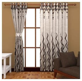 Fresh From Loom Jute Curtain For Window