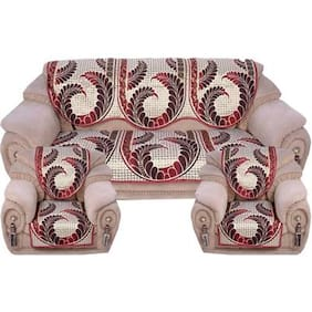 Fresh From Loom 5 Seater polycotton Sofa Set
