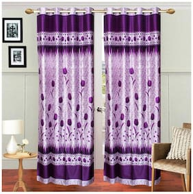 Fresh From Loom Polyester Door Curtain- Set of 2
