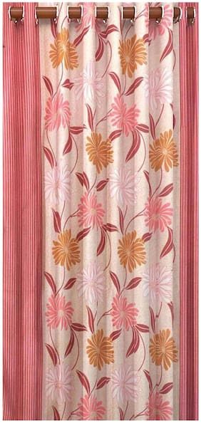 Fresh From Loom Polyester Long Door Curtain- Set of 4