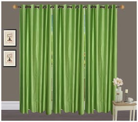 Fresh From Loom Polyester Long Door Curtain- Set of 3