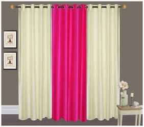 Fresh From Loom Plain Eyelet Door Curtain