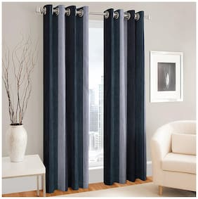Fresh From Loom Polyeste Long Door curtain 2Pc