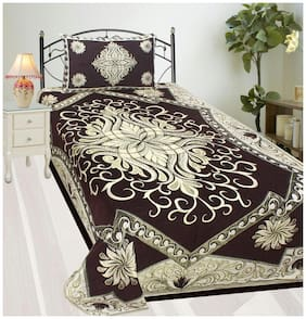 Fresh From Loom Velvet Single Bedsheet