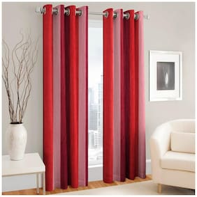 Fresh From Loom Polyester Window curtain 2Pc