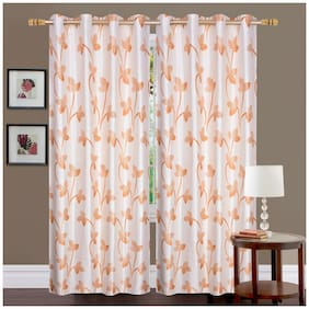 Fresh From Loom Polyester Door Curtain -2 Pc