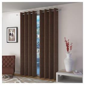 Fresh From Loom Jute Long Door Curtain 2 pc