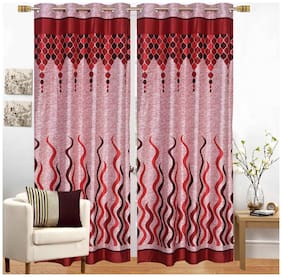 Fresh From Loom Polyester Window Curtain -1 pc