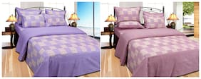 Fresh From Loom Cotton Double Bedsheet - Buy One Get One Free