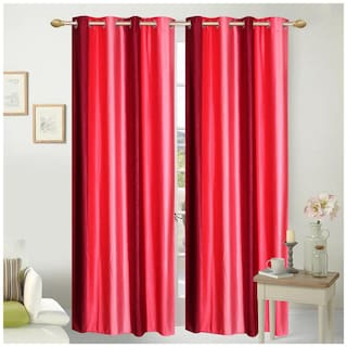Fresh From Loom Polyester Door Curtain- Set of two