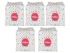 Freshee 50 Pulls 2 Ply Pack Of 5 Cocktail Napkin Tissue That Offers A Fresh Soft And Hygienic Experience