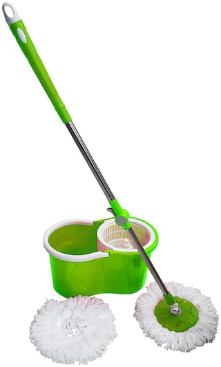 Freshome Double Bucket Spin Mop Eaze with Extra Refill