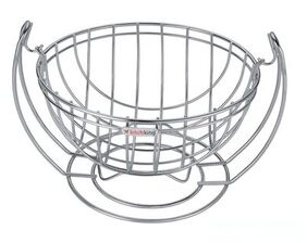 SARANGWARE New Fruit Basket Swinging - Round (Stainless Steel)
