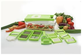 FRUIT & VEGETABLE CHOPPER 12 IN 1 CUTTER/ SLICER