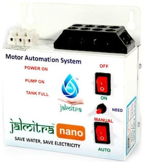 Fully Automatic Water Level Controller - Jalmitra