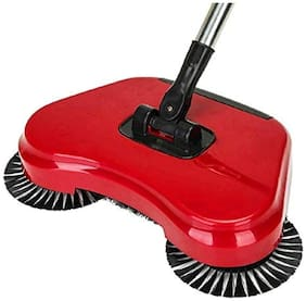 Fully Automatic Hand Push Sweeper Mop Sweep Broom Dustpan