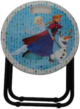 Funcart Frozen blue and white stool