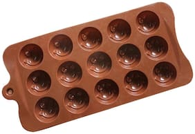 Futaba 15 smile silicone chocolate mould