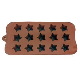 Futaba 15 star shape chocolate mold