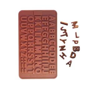 Futaba 26 Letters Shape Silicone Chocolate Mould