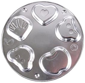 Futaba 3D Aluminum Bear Heart Flower Shell Mould