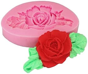 Futaba 3D Rose Flower silicone Sugar Craft Decoration Mold