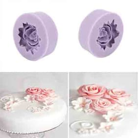 Futaba 3D Silicone Rose Mould