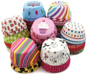 Futaba Assorted Muffin Paper Cup Lining - 100 pieces