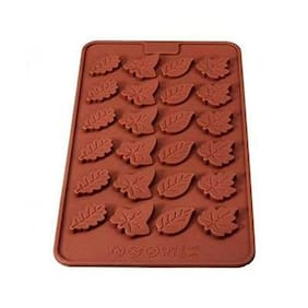 Futaba Christmas tree leaves / Rose leaves silicone mold