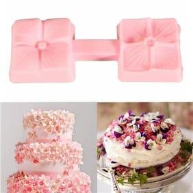 Futaba Flower Petal Press Cake Mold Silicone Flower Sugar Craft Tool
