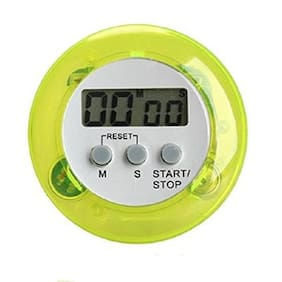 Futaba Kitchen Digital Timer - Lime Yellow