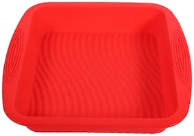 Futaba Rectangle Shape Silicone Cake Bread Mould