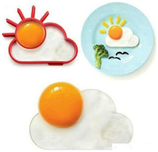 Futaba Silicone Sun & Cloud Fried Egg Mold