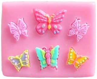Futaba Six Butterfly Shape Silicone Mold