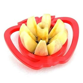 Futaba Stainless Steel Apple Cutter - Red