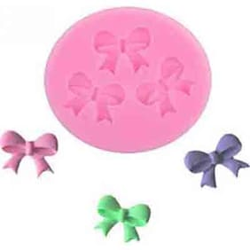 Futaba Three Bows Silicone Cake Mould Sugarcraft Mould